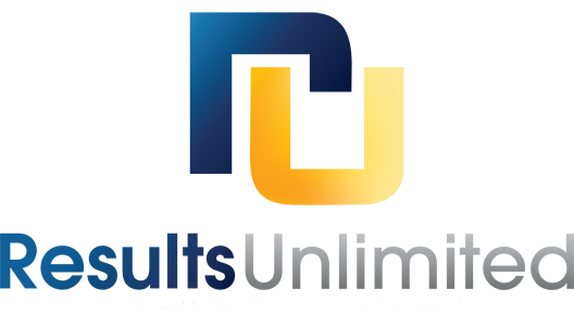 Results Unlimited Agency Fade Logo